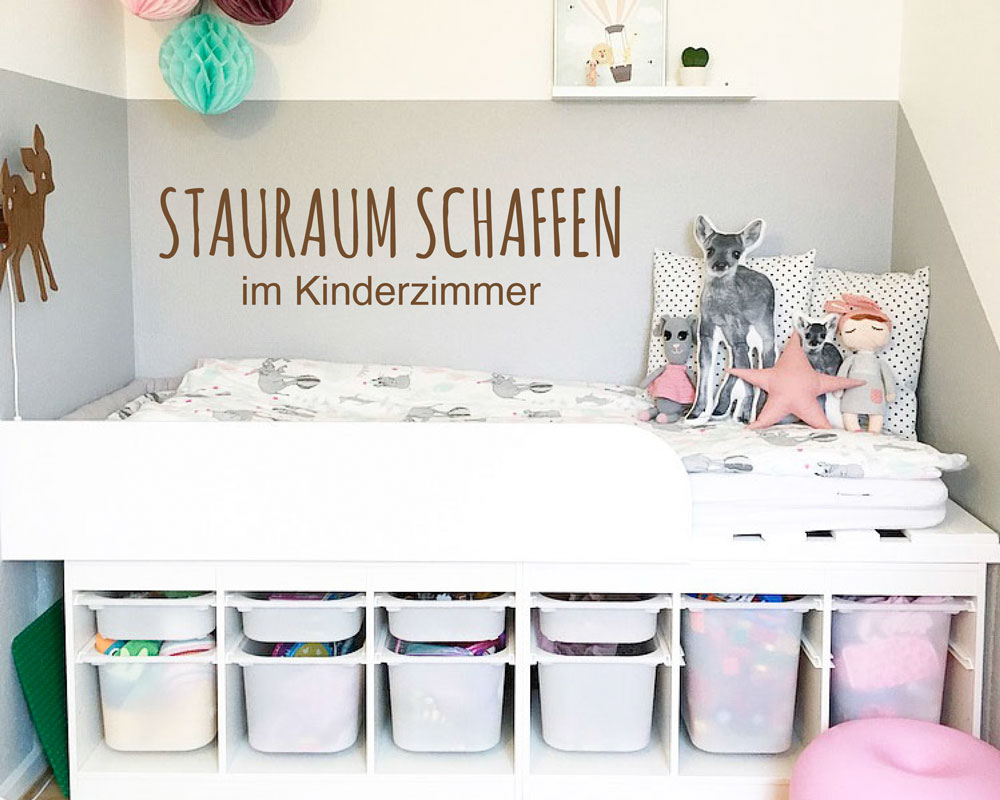 stauraum schaffen in kinderzimmern unsere tipps. Black Bedroom Furniture Sets. Home Design Ideas