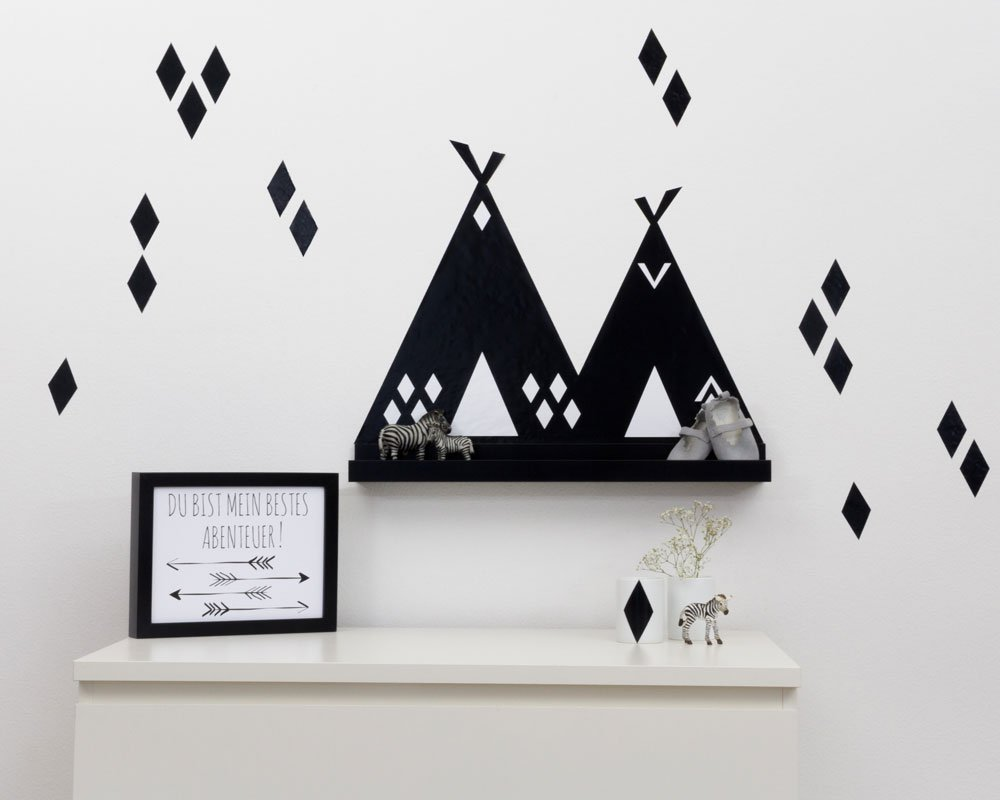 indianer zimmer tipi federn und co im kinderzimmer. Black Bedroom Furniture Sets. Home Design Ideas