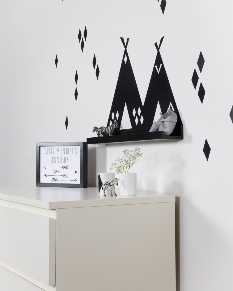 ikea kinderk che aufpeppen mit tipi folie fuer ribba. Black Bedroom Furniture Sets. Home Design Ideas