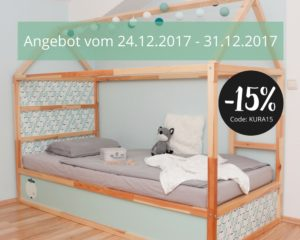 ikea kinderhochbett pimpen kura hack rabatt limmaland blog. Black Bedroom Furniture Sets. Home Design Ideas