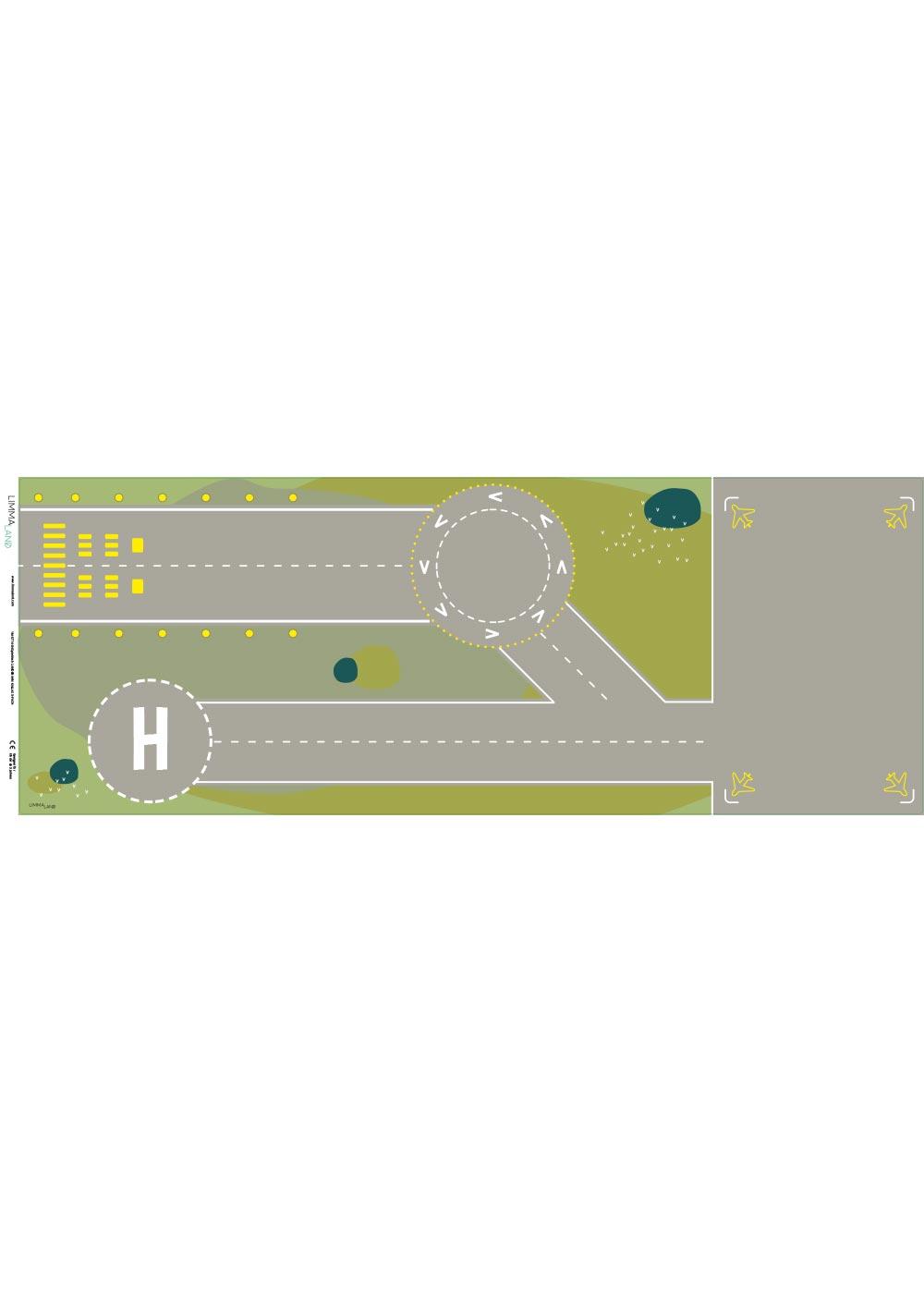 Ikea Kallax Regal Landebahn 3fach Druckvorlage