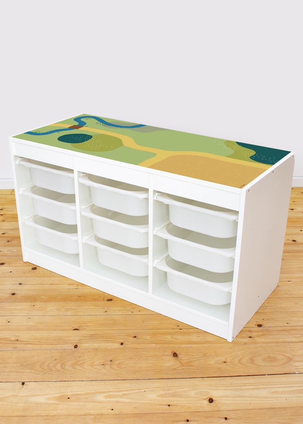 Ikea Trofast Regal Spielwiese
