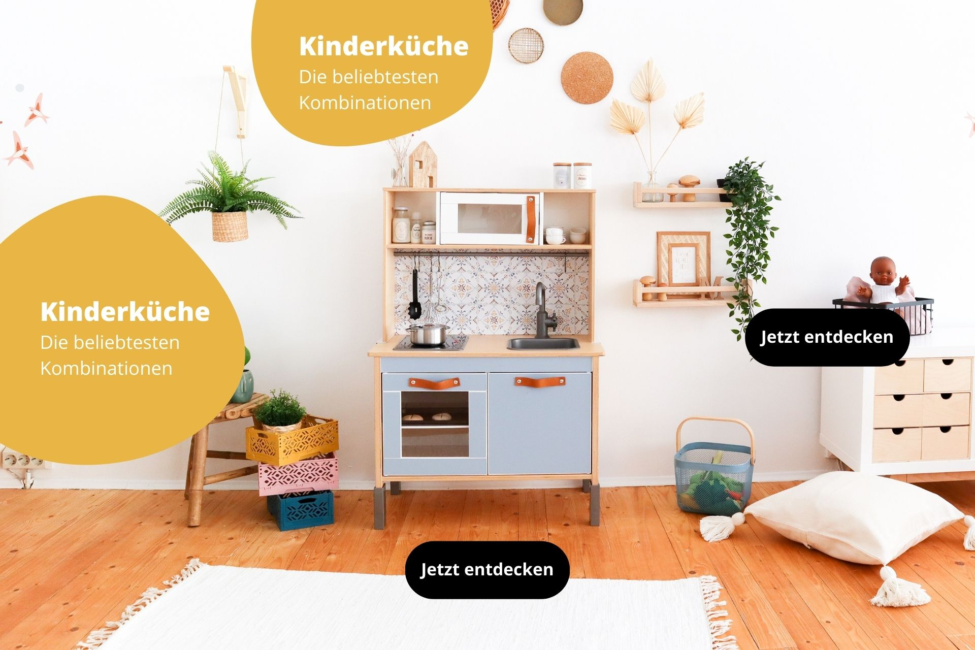 Kinderküche Kombi