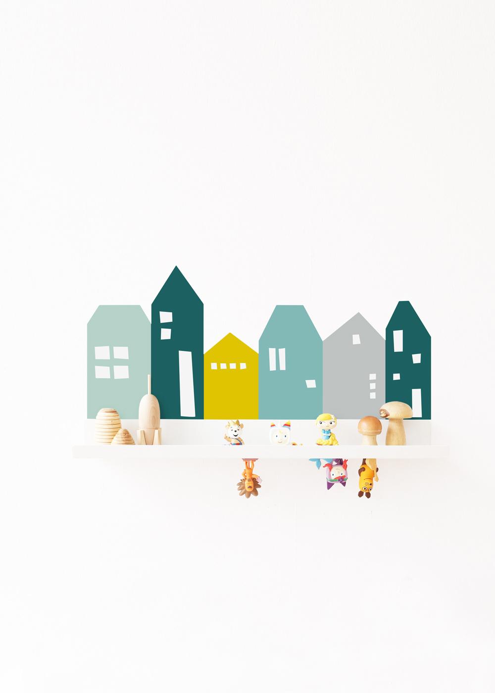 Ikea Malmbäck Bilderleiste Lille Hus Mint Waldgrün Gesamtansicht