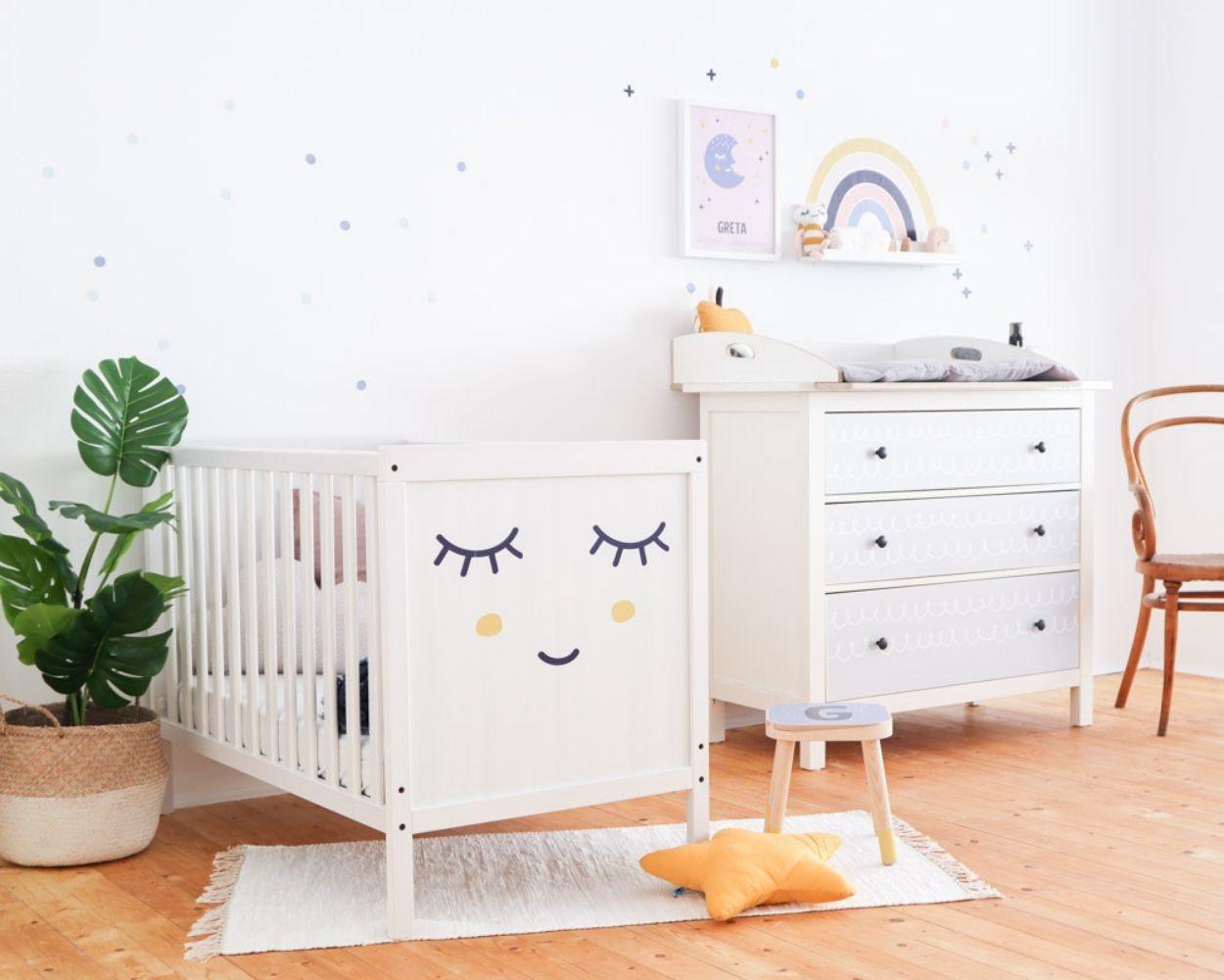 Ikea Babyzimmer Klebefolien