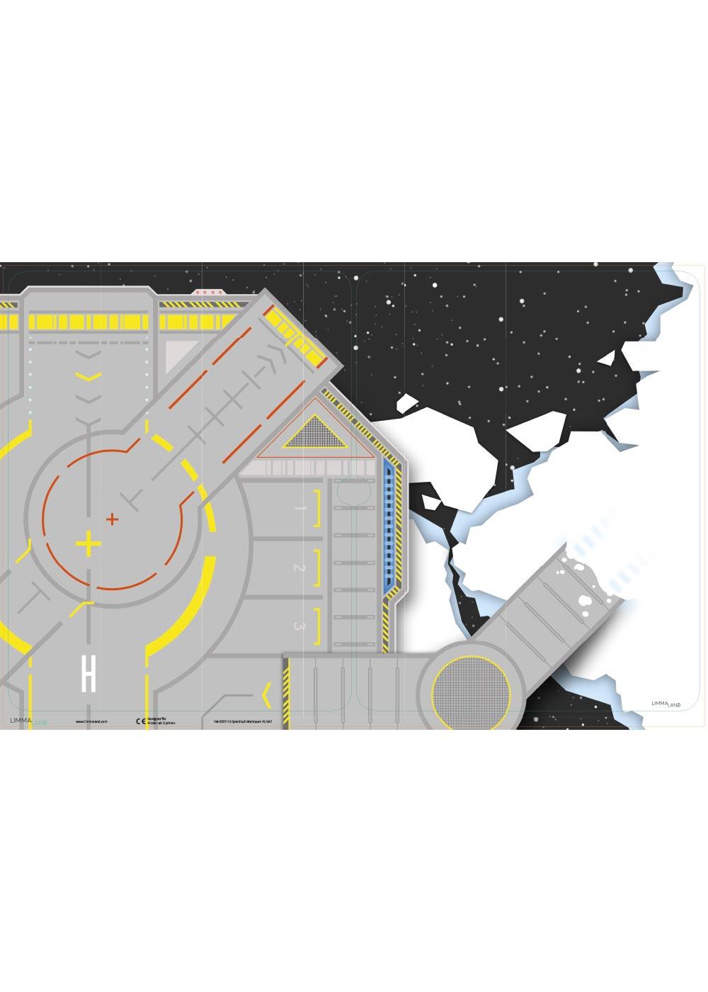 Ikea Flisat Kindertisch Weltraum Druckvorlage