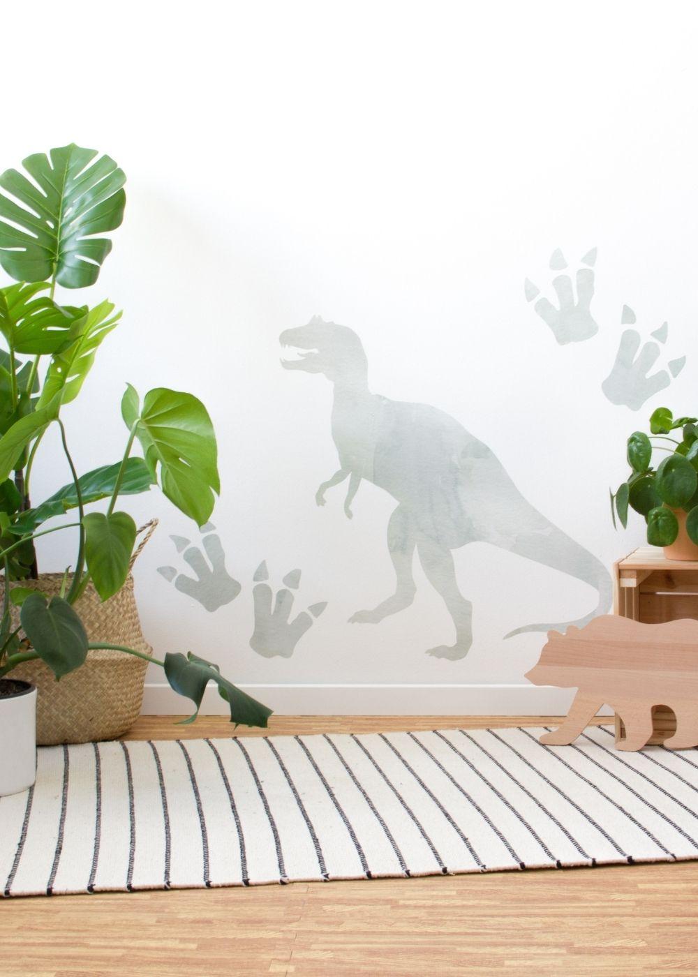 Dinosaurier Klebefolie Kinderzimmer
