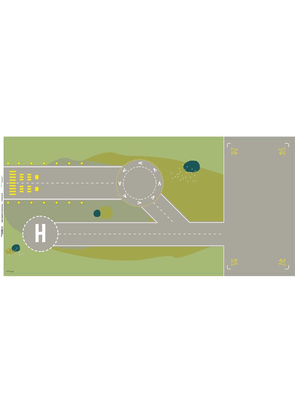 Ikea Dundra Spieltisch Landebahn Druckvorlage