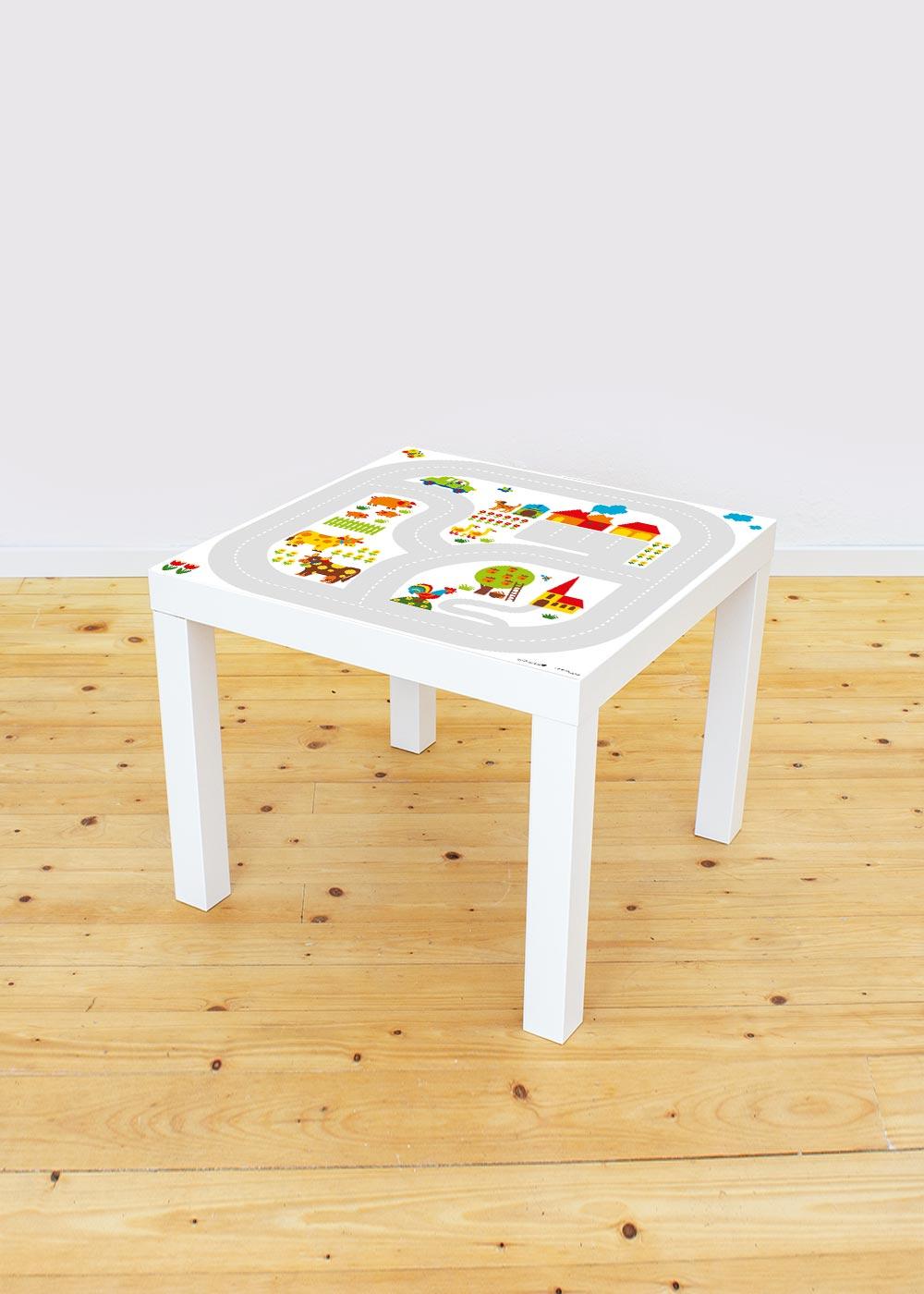 Ikea Lack Beistelltisch ByGraziela Bauernhof Gesamtansicht