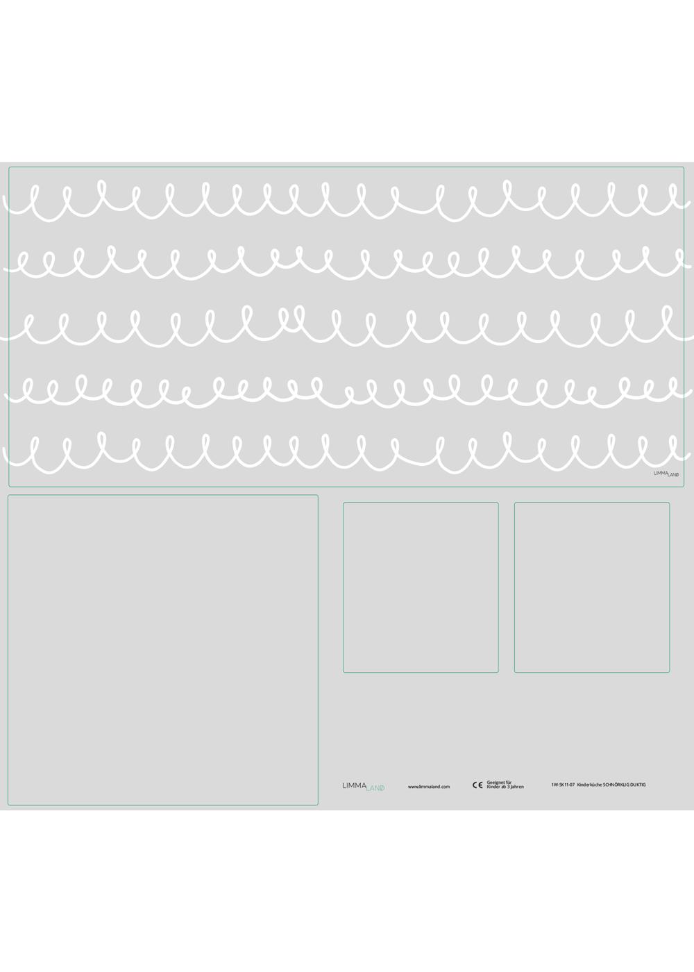 Ikea Duktig Kinderküche Schnörklig Steingrau  Druckvorlage