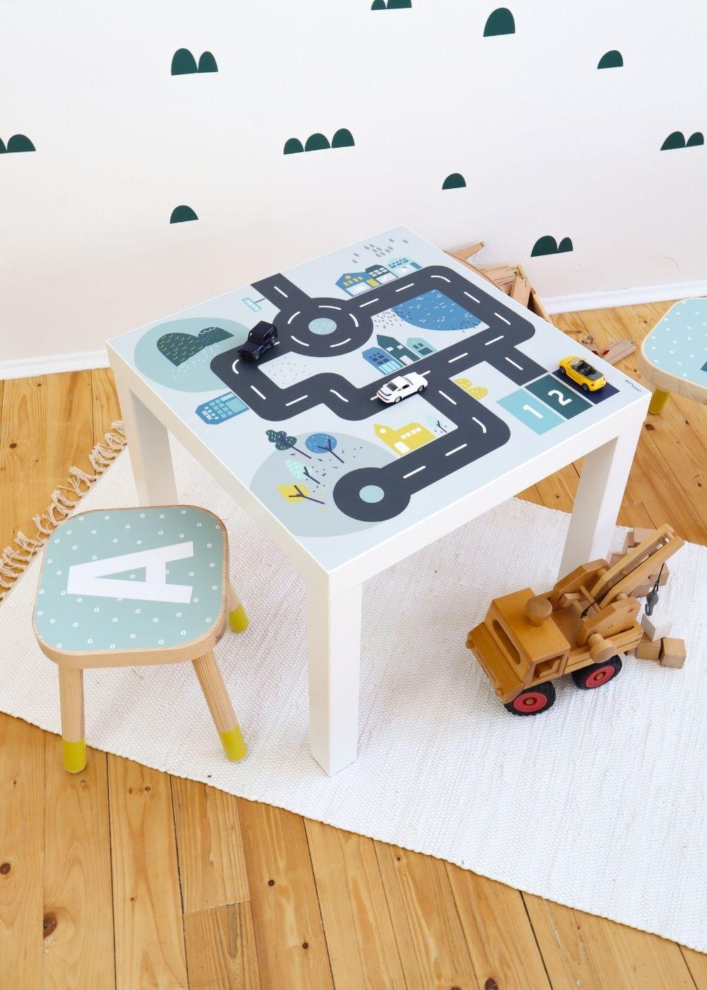 Spielecke IKEA Lack Klebefolie
