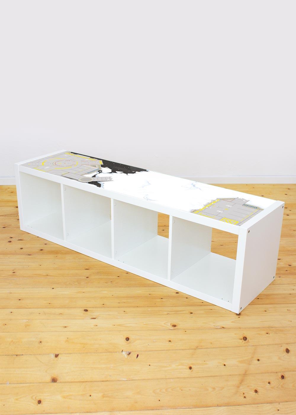 Ikea Kallax Regal Weltraum 4fach Komplettansicht