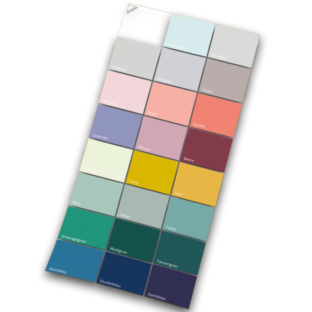 Farb- und Klebemuster