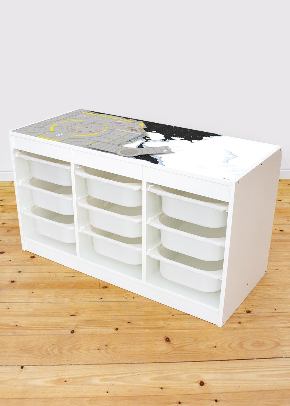 Ikea Trofast Regal Weltraum