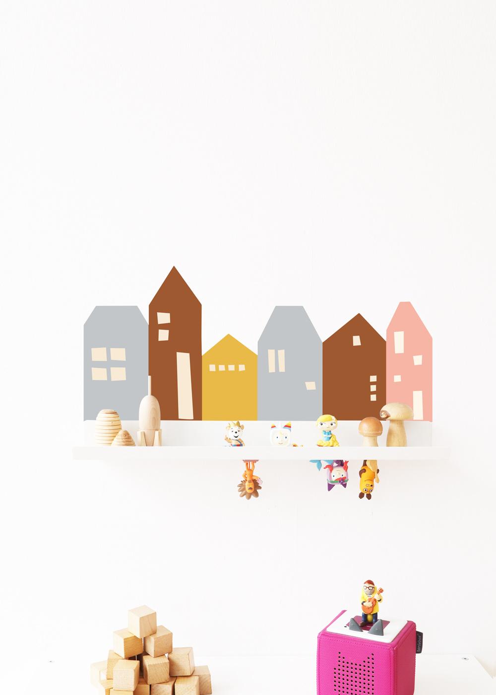 Ikea Malmbäck Bilderleiste Lille Hus Eisblau Camel Gesamtansicht