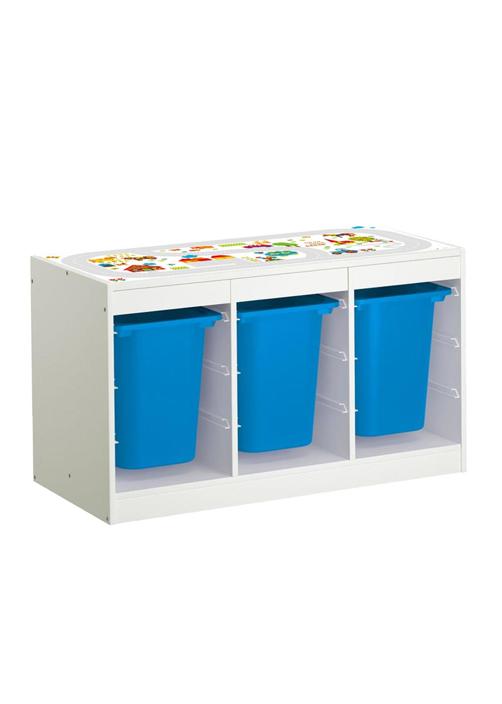 Ikea Trofast Regal ByGraziela Bauernhof Gesamtansicht