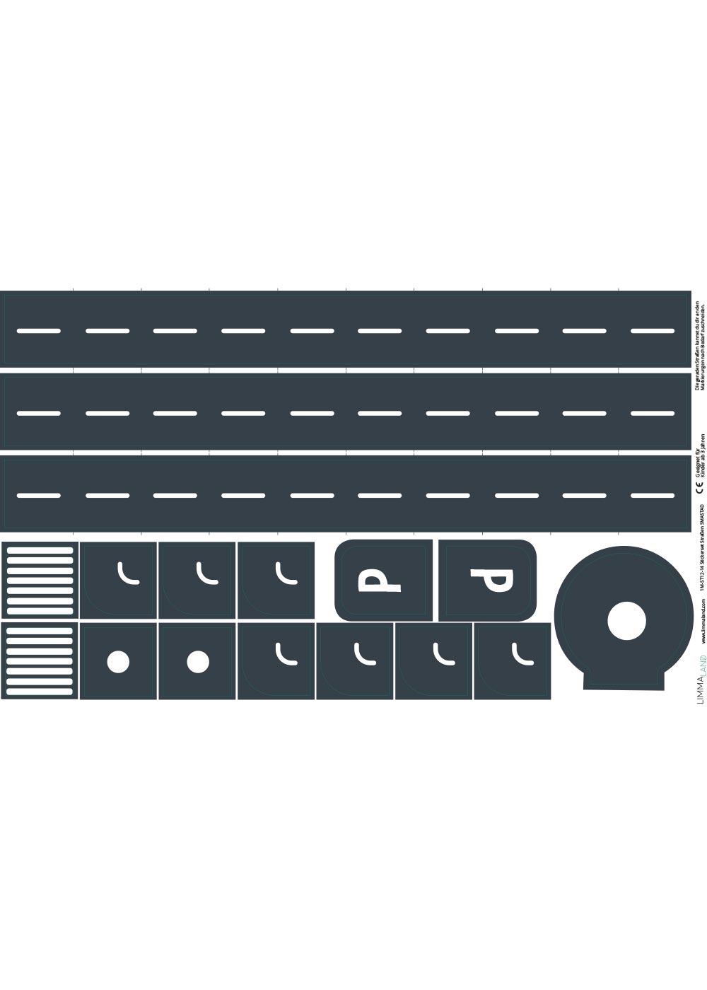 DIY Ikea Spieltisch Smastraat Stickerset