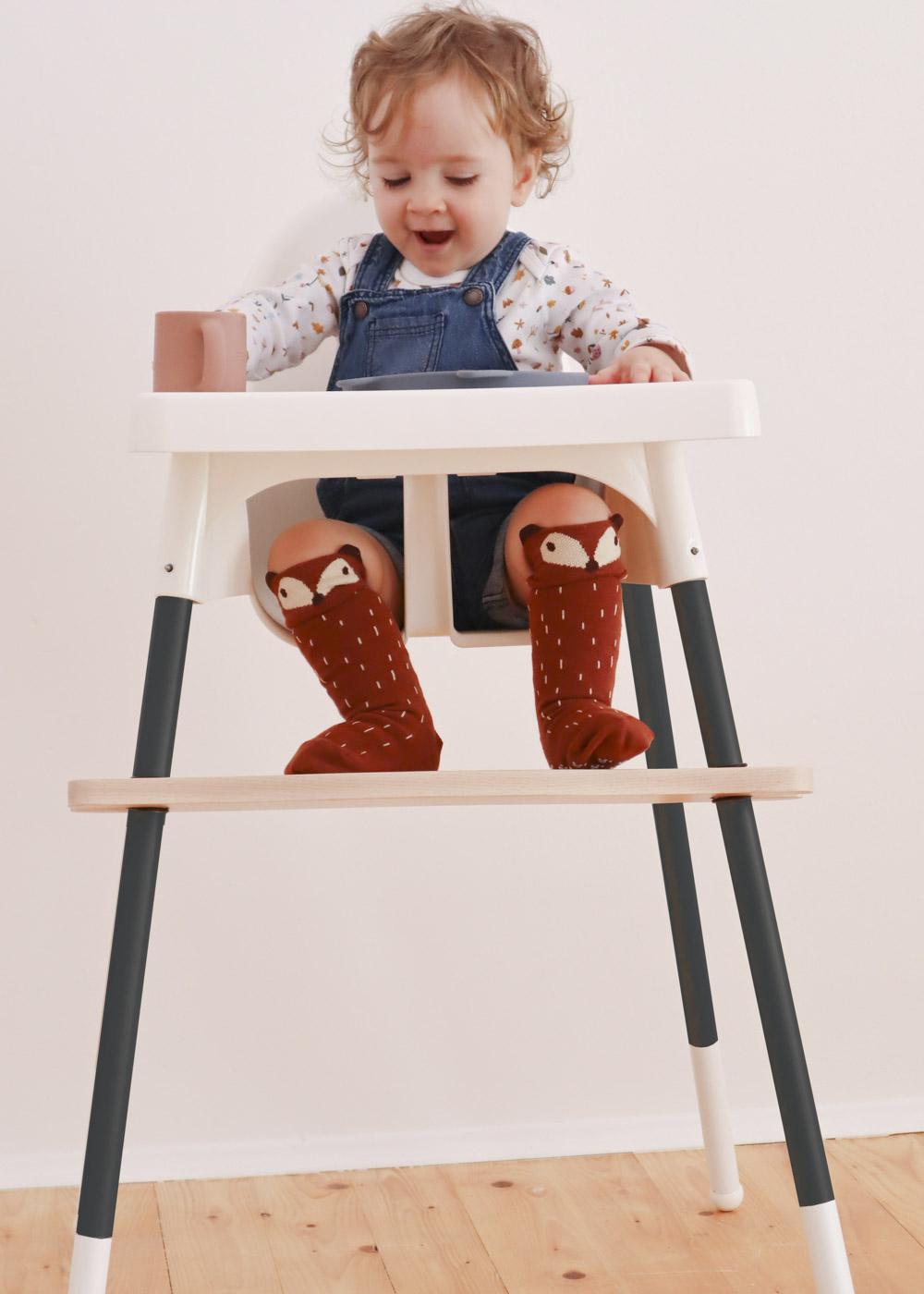 Fußstütze IKEA Antilop Hochstuhl mit Kind