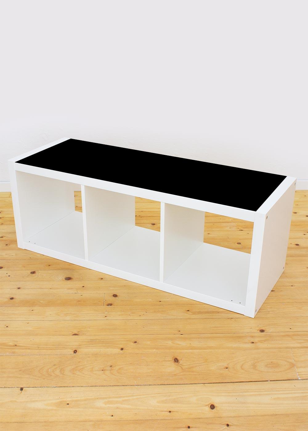Ikea Kallax Regal 3fach Ideenreich Tafelfolie