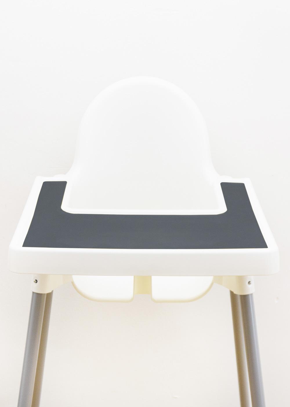 Silikonmatte Ikea Antilop Hochstuhl Klecka Mat schiefer