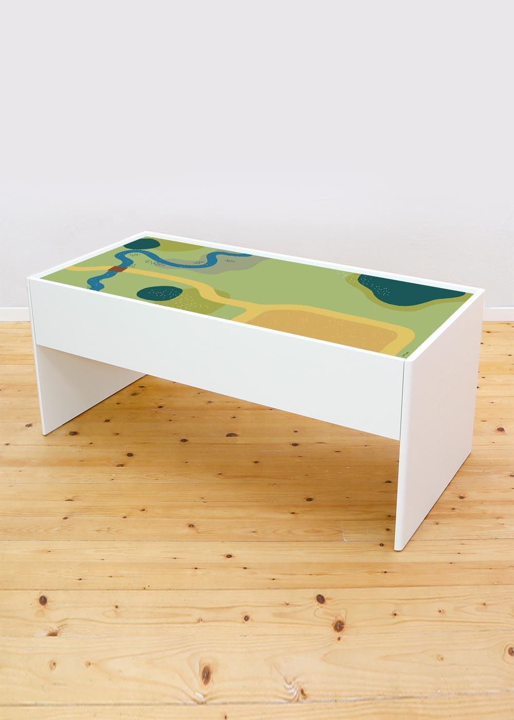 Ikea Dundra Spieltisch Spielwiese Komplettansicht