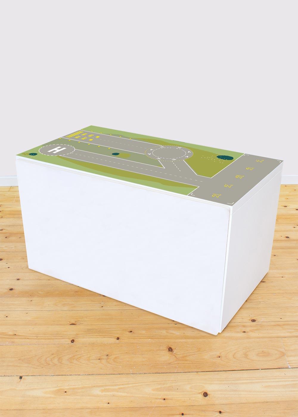 Ikea Smastad Bank Landebahn