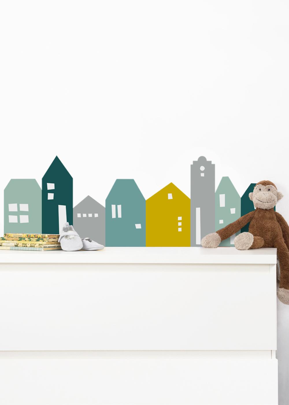 Ikea Mansarp Bilderleiste Lille Hus Mint Waldgrün Gesamtansicht