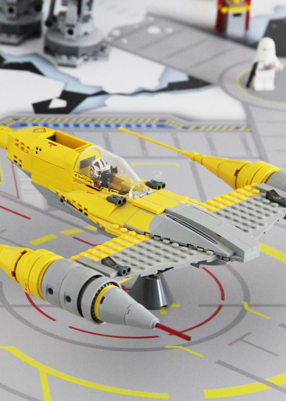 Ikea Lack Beistelltisch Weltraum Teilansicht Raumschiff