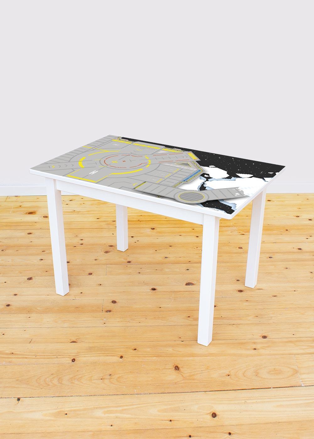 Ikea Sundvik Kindertisch Weltraum