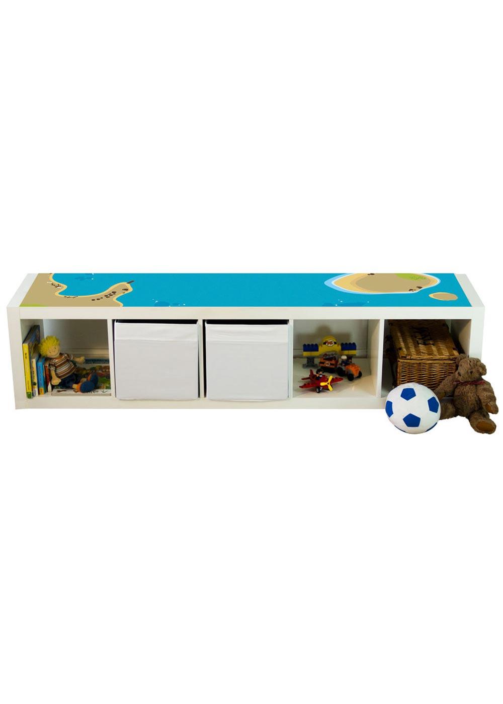 Ikea Kallax Regal Wasserreich 4fach Komplettsicht Spielzeug