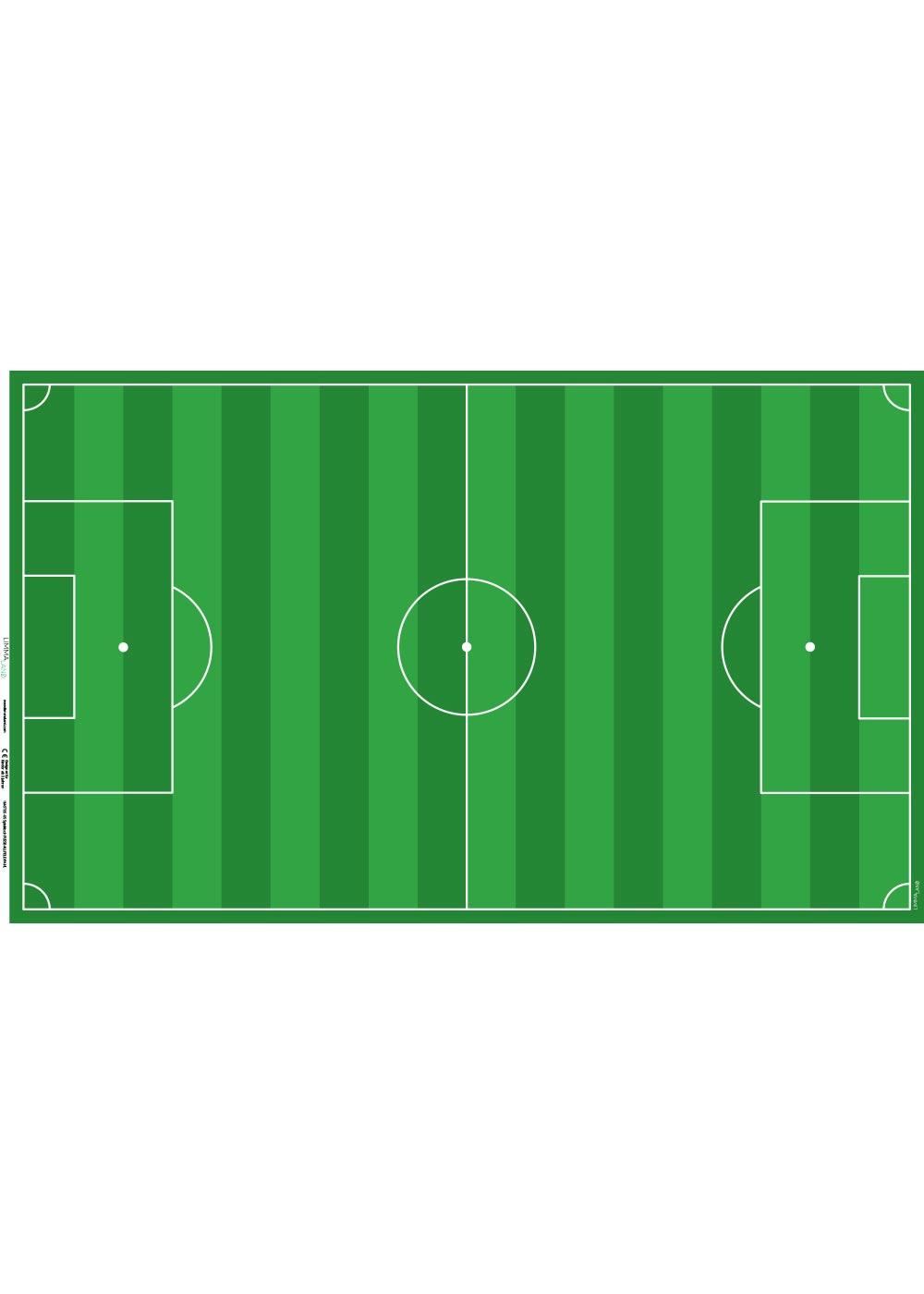 Ikea Pahl Kinderschreibtisch Fussballfeld grün Druckvorlage