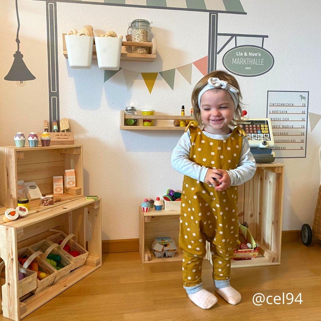 Kaufladen mit Kind