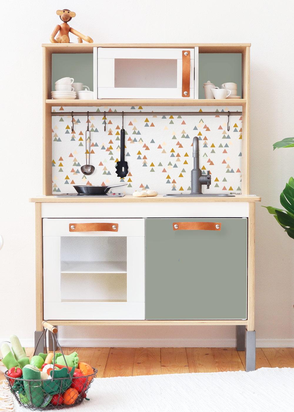 Ikea Duktig Kinderküche Trianglig Eukalyptus