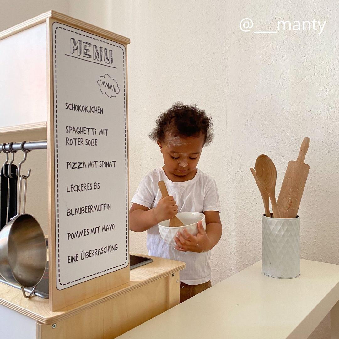Kinderküche backen