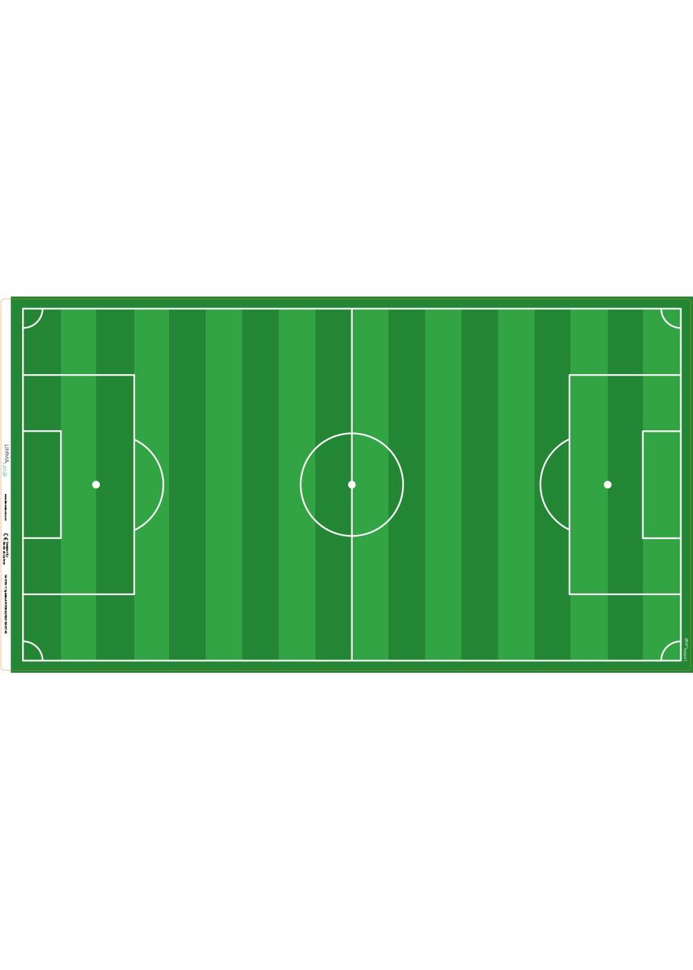 Ikea Smastad Bank Fussballfeld grün Druckvorlage