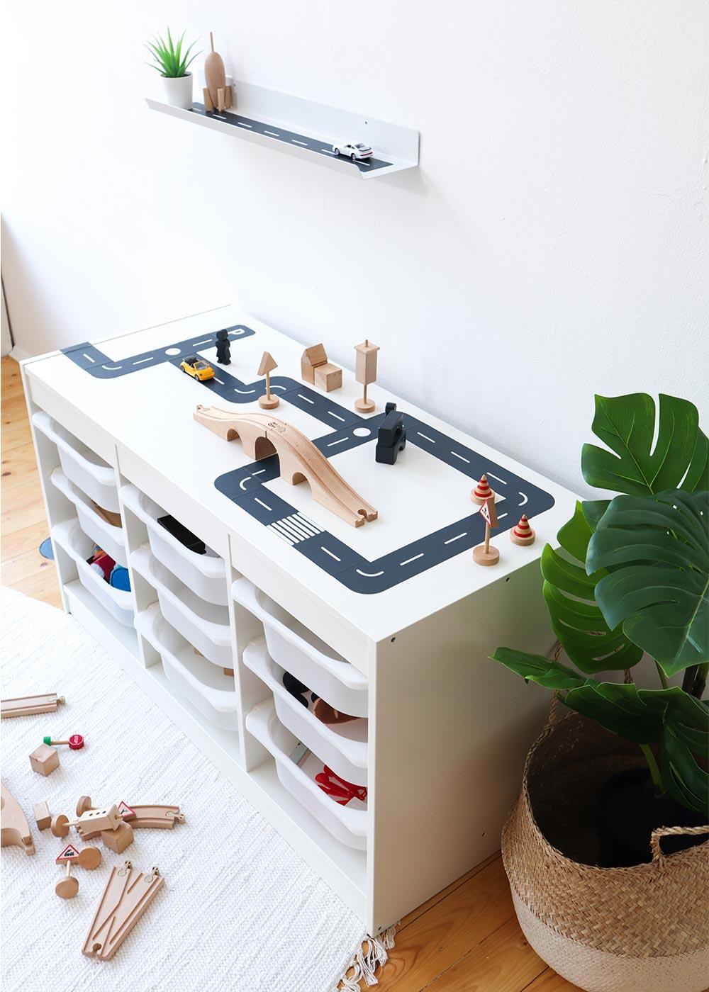 DIY Ikea Spieltisch Smastraat Vollansicht oben