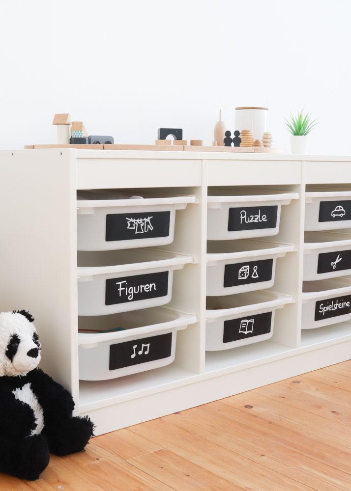 Ikea Trofast Kreidereich Tafelfolie Detailansicht