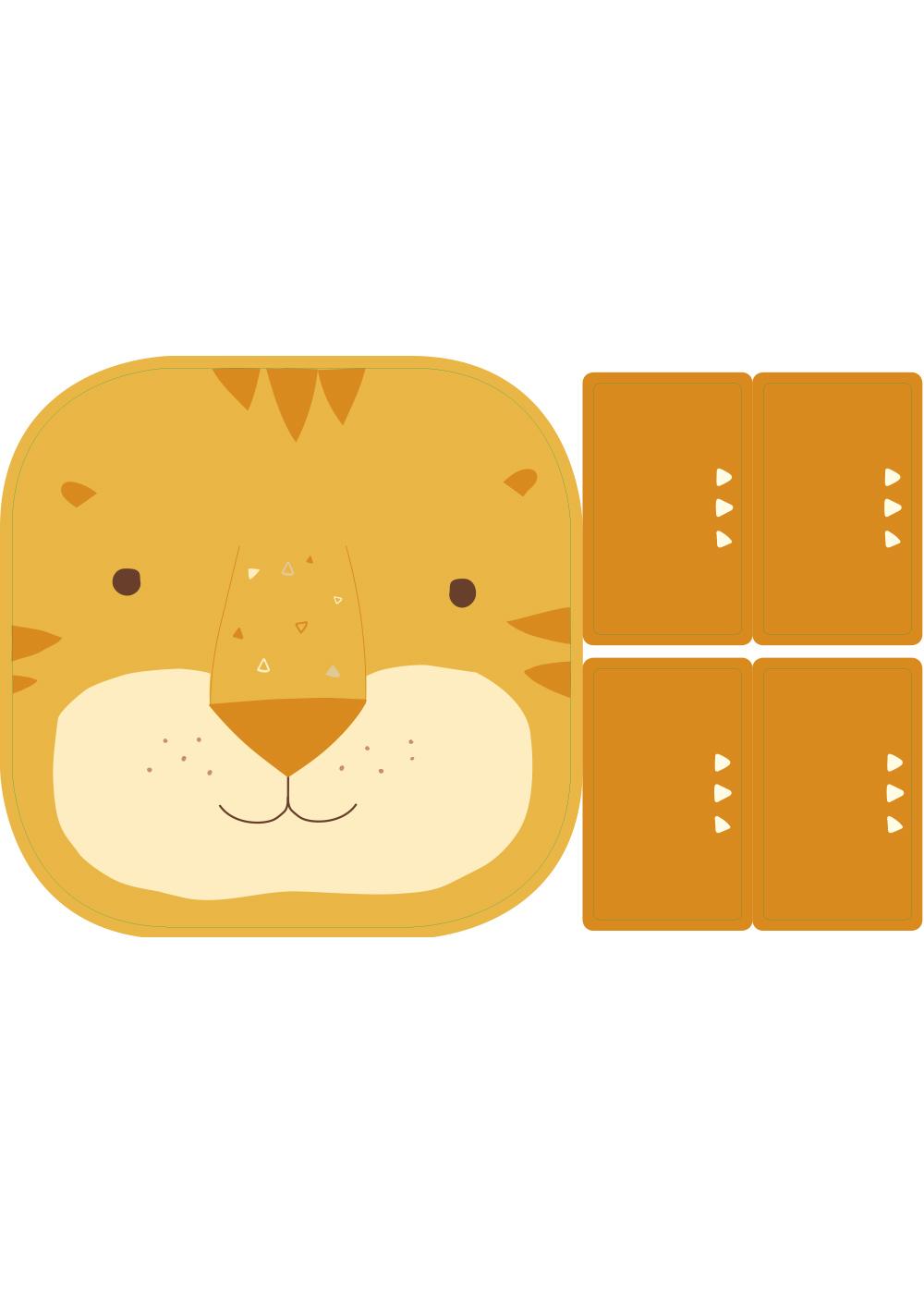 klebefolie ikea flisat kinderhocker tierig tiger 5