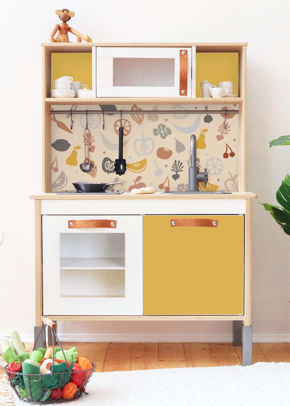 Ikea Duktig Kinderküche Fruktig Senf Frontansicht