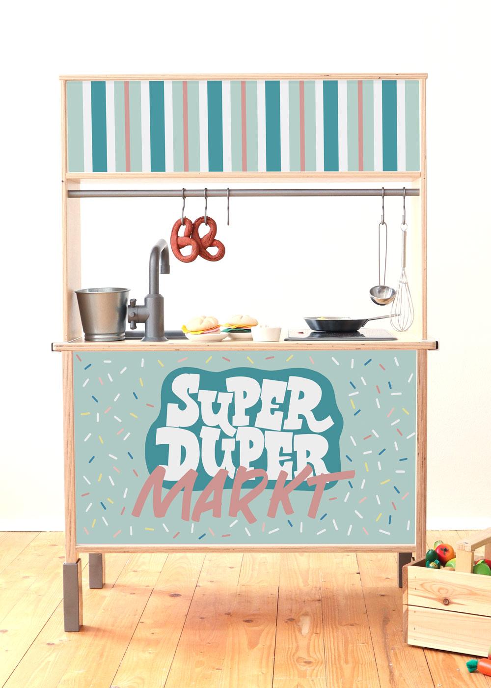 Ikea Kaufladen Duktig Kinderküche Super Duper Mint Komplettansicht