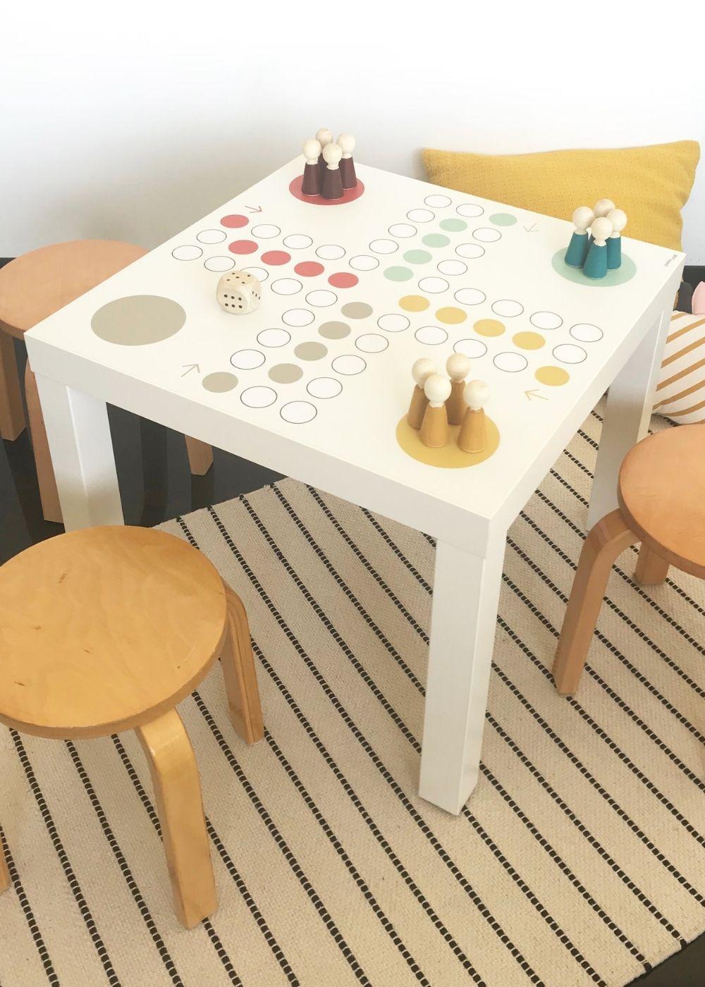 Grundschule Spieltisch Klebefolie