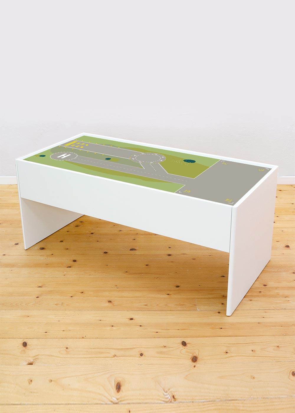 Ikea Dundra Spieltisch Landebahn Komplettansicht