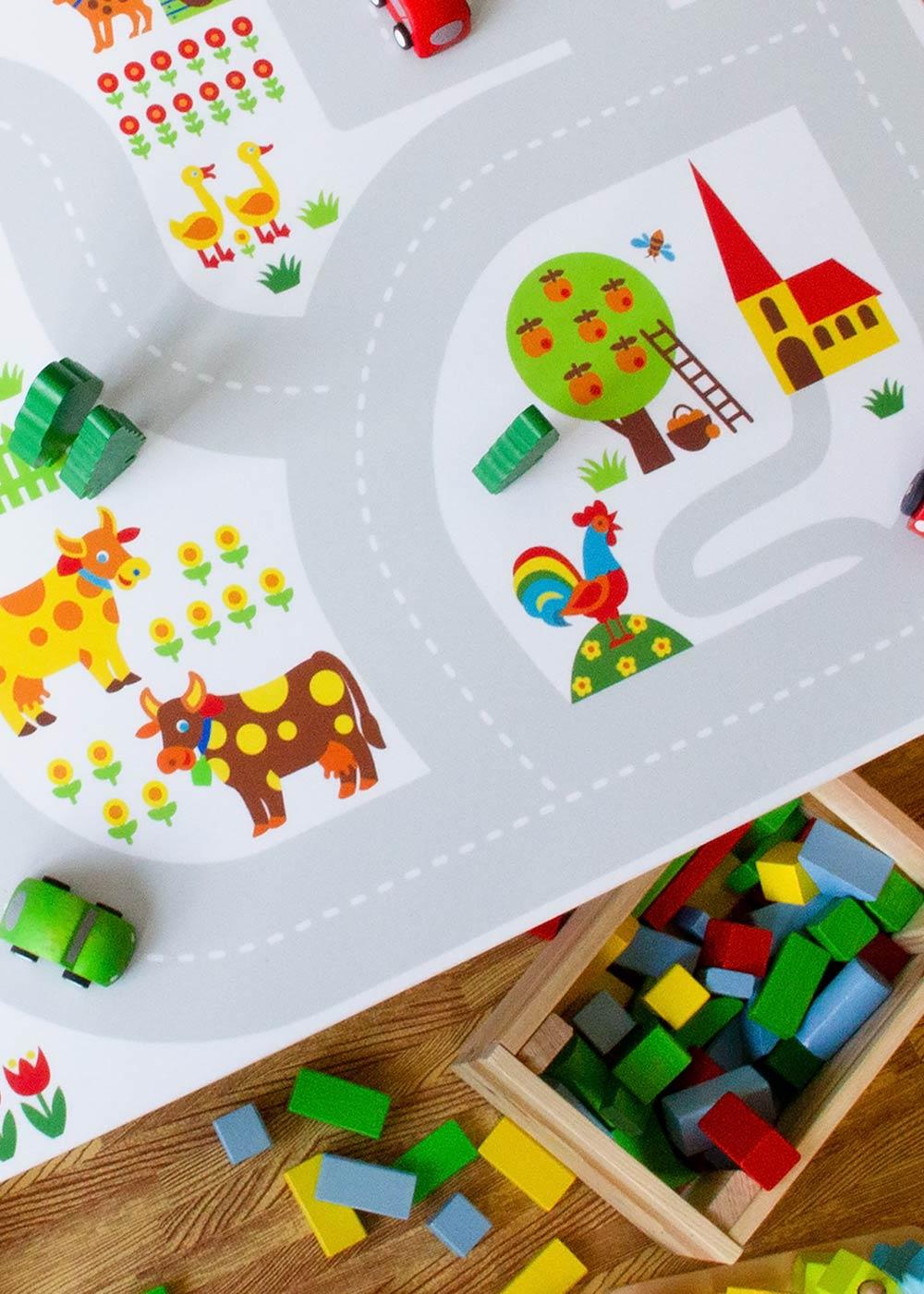 Ikea Kallax Regal ByGraziela Bauernhof 2fach Teilansicht