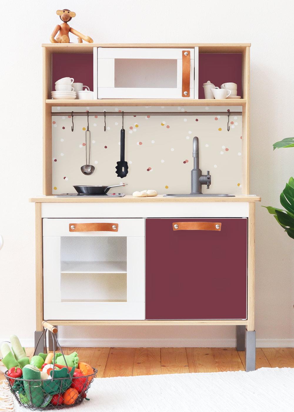 Ikea Duktig Kinderküche Beerig Beere Frontansicht