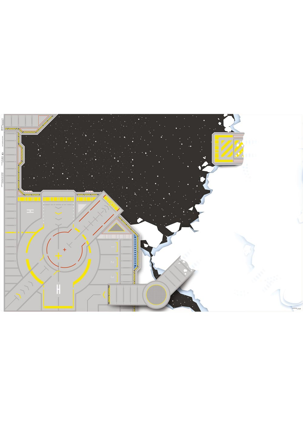 Ikea Lack Couchtisch Weltraum 78x118 Druckvorlage