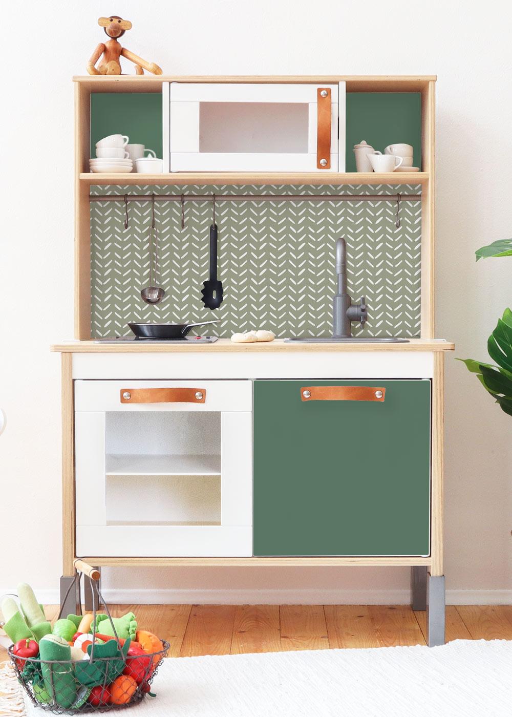 Ikea Duktig Kinderküche Waldig Immergrün