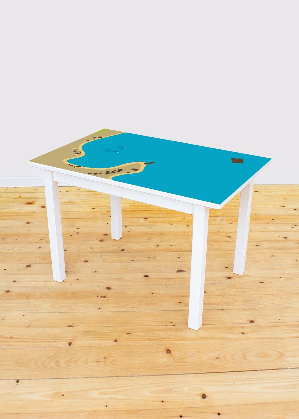 Ikea Sundvik Kindertisch Wasserreich