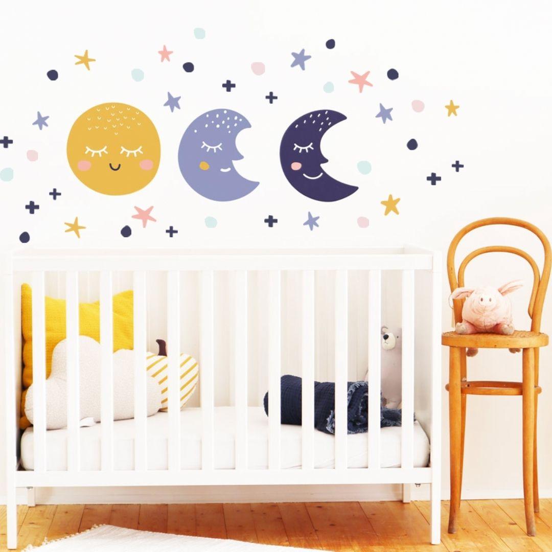 Ikea Babyzimmer Wandklebefolie