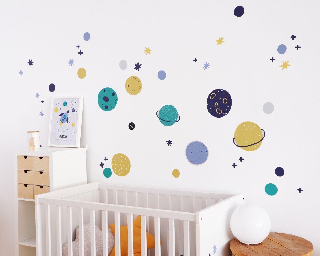 Babyzimmer Junge Weltraum
