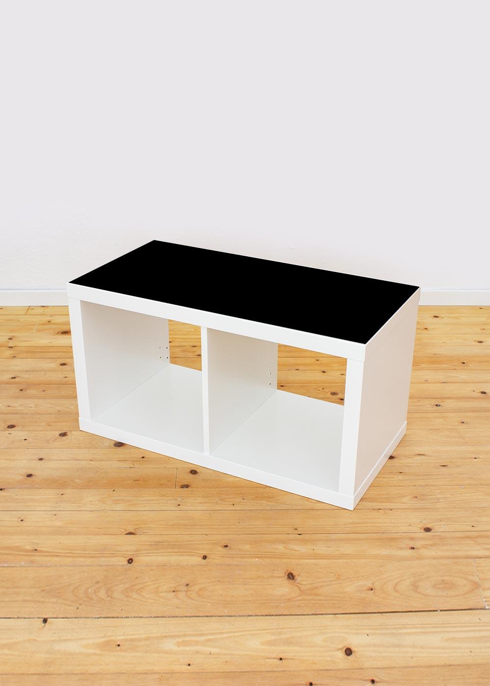 Ikea Kallax Regal 2fach Ideenreich Tafelfolie